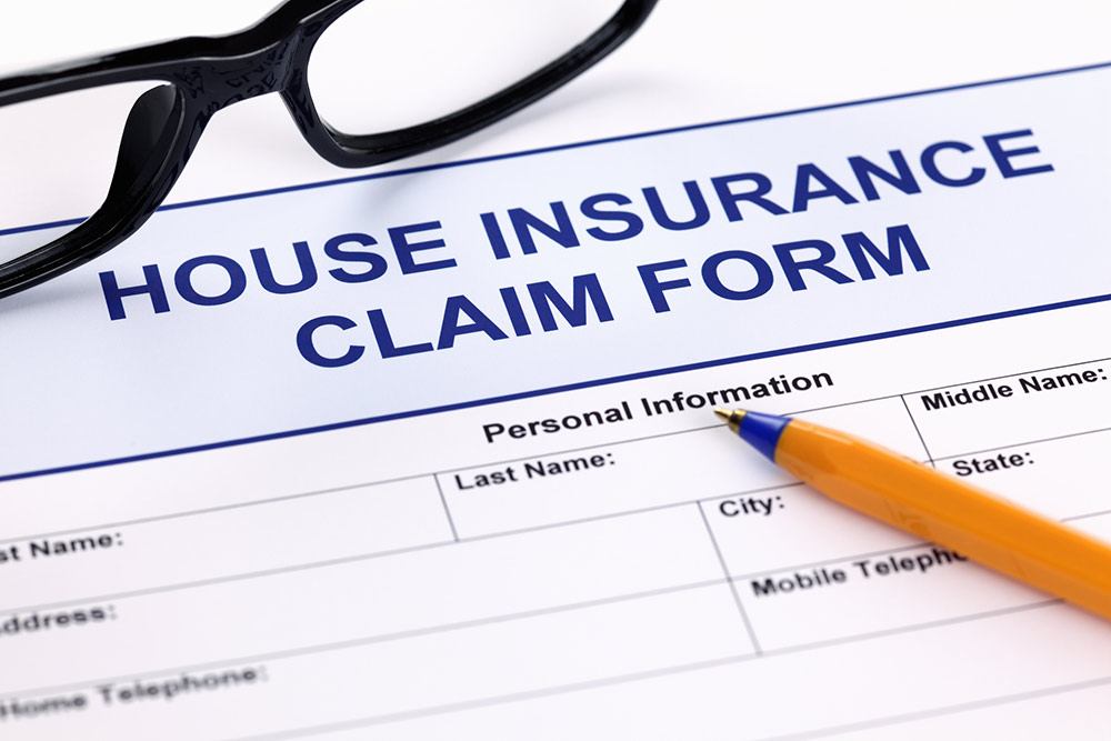 Home Insurance Claim Form